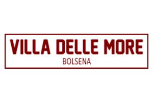 logo villa delle more bolsena